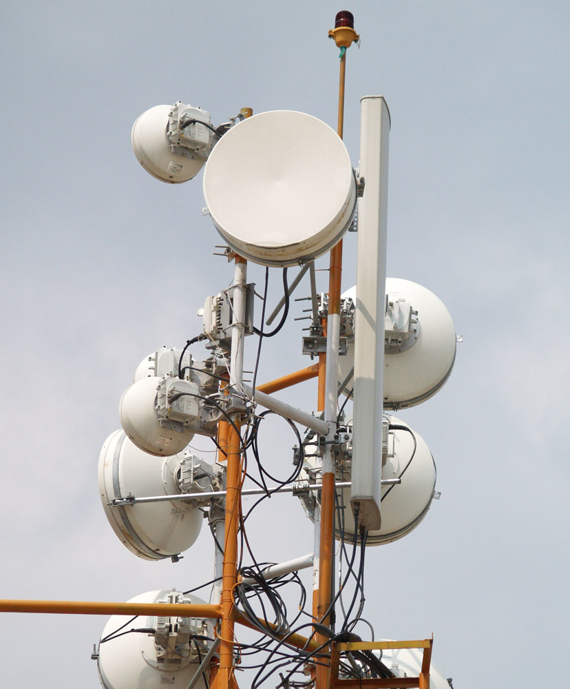 Microwave Antenna for mobile
